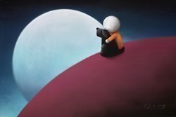 Midnight Feast by Doug Hyde -  sized 30x20 inches. Available from Whitewall Galleries